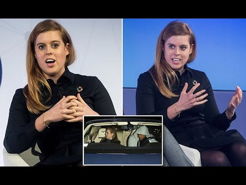 Princess Beatrice looks chic at tech conference in Barcelona - Hot Girl