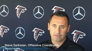 VIDEO: Falcons OC Steve Sarkisian on tight end Austin Hooper