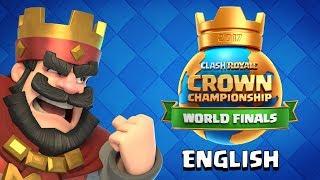 LIVE! Clash Royale: Crown Championship World Finals 2017 PreShow