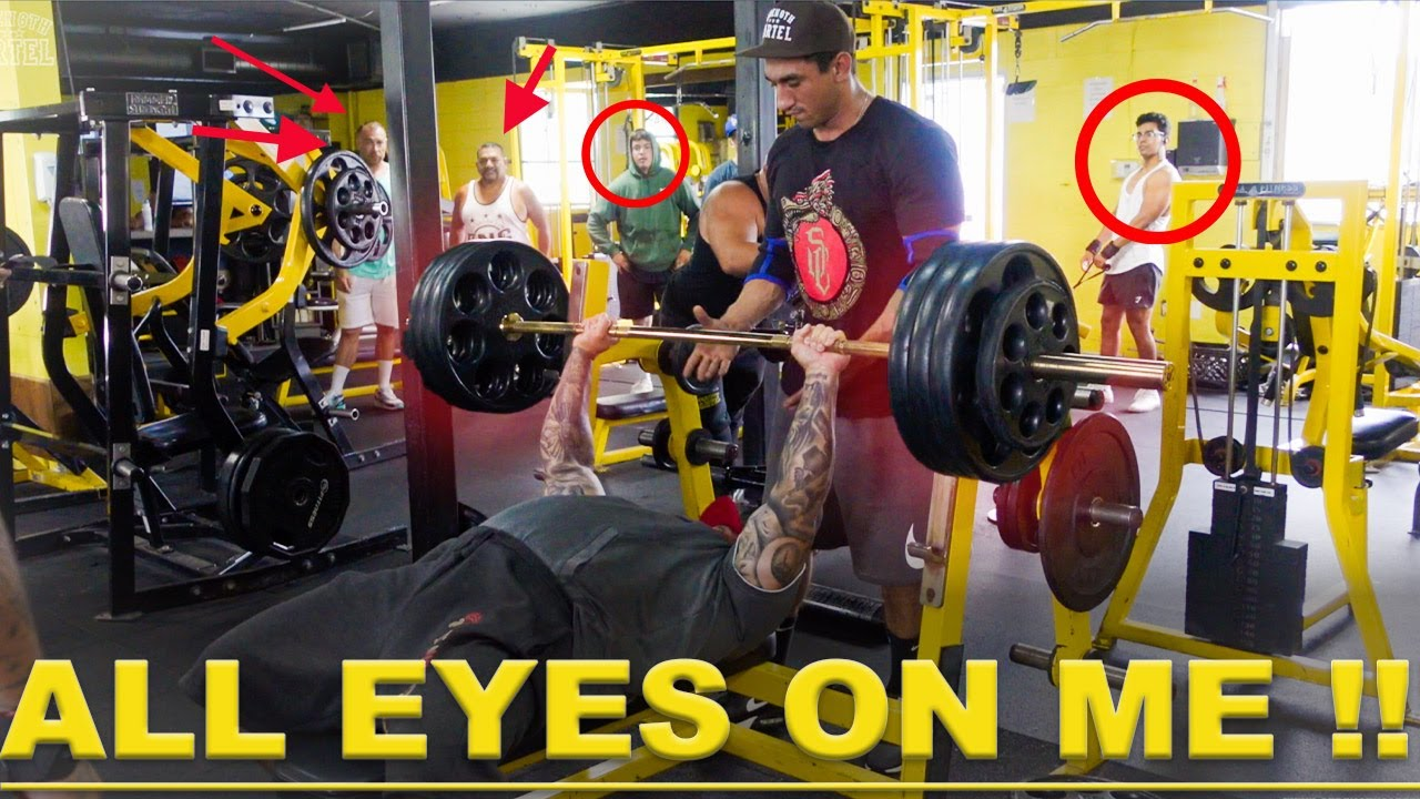 Download EVERYONE STARES WHEN STRENGTH CARTEL BENCH PRESSES