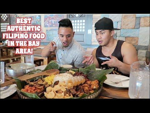 BEST AUTHENTIC FILIPINO FOOD IN THE BAY AREA! ISLA RESTAURANT MUKBANG