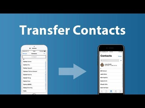 Transfer Contacts from iPhone 6 to iPhone 11/X/8/8 Plus. Simple & Easy!