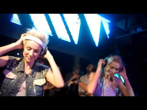 Nervo Setting Up And DESTROYING Pacha NYC 8/5/11