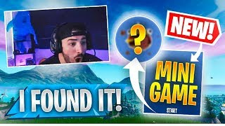 I Found a *SECRET* Easter Egg Mini Game! (Fortnite Battle Royale)