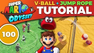 Super Mario Odyssey - HOW TO SCORE 100 in Volleyball & Jump Rope [TUTORIAL]