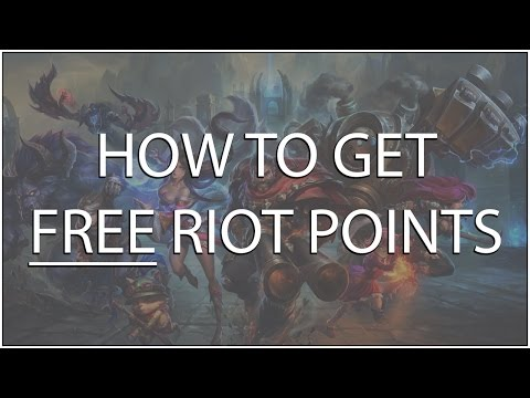 Free RP in League of Legends 2017 - Riot Points Hack ...