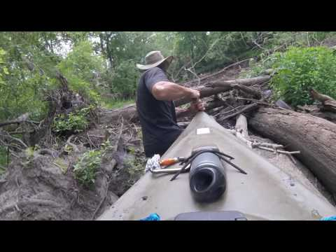 Kayaking the Upper Kaskaskia