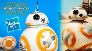 Star Wars The Force Awakens NEW BB-8 Droid Toy by Hasbro Unboxing