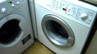aeg indesit washing machine cottons programme