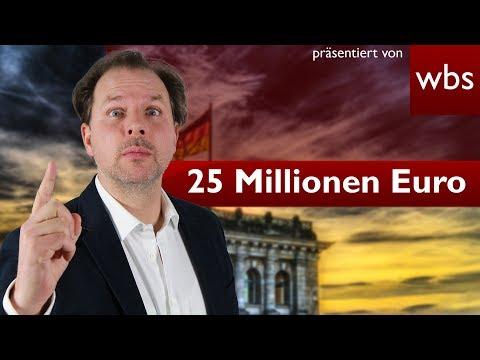 25 Millionen Euro mehr für Parteien - War das legal? | Rechtsanwalt Christian Solmecke