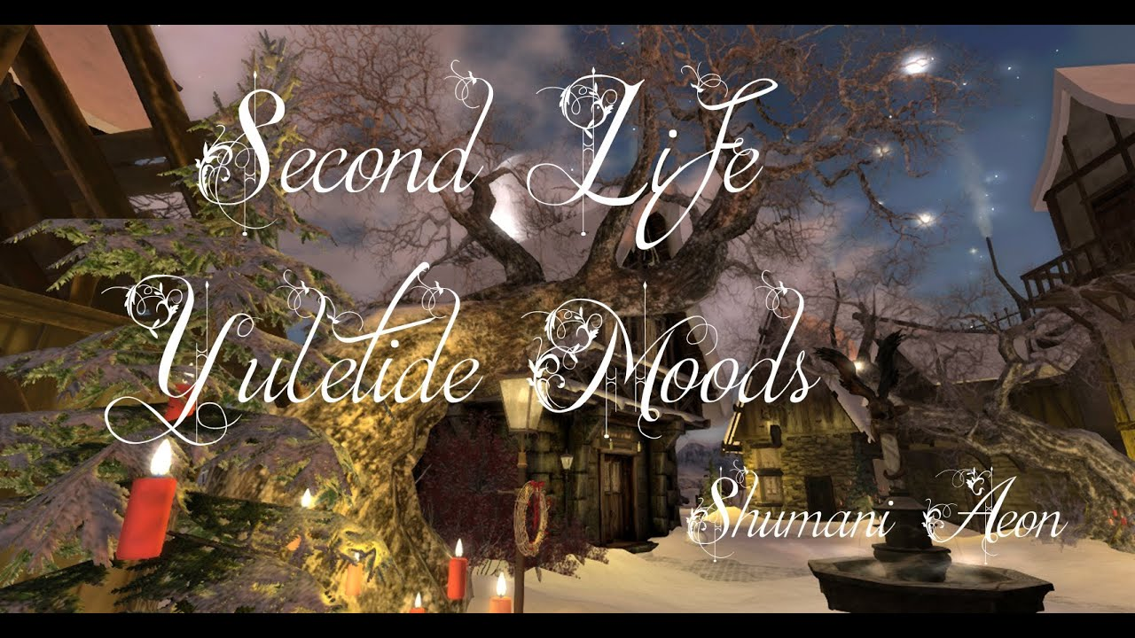 Second Life Yuletide Moods 2020 (Slideshow) Holidays and Travel in Secondlife ~ Merry Christmas ♥