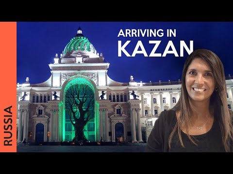 Welcome to Kazan, Russia (2018 vlog   каза́нь)