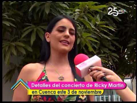Detalles del concierto de Ricky Martin en Cuenca este 3 de Noviembre