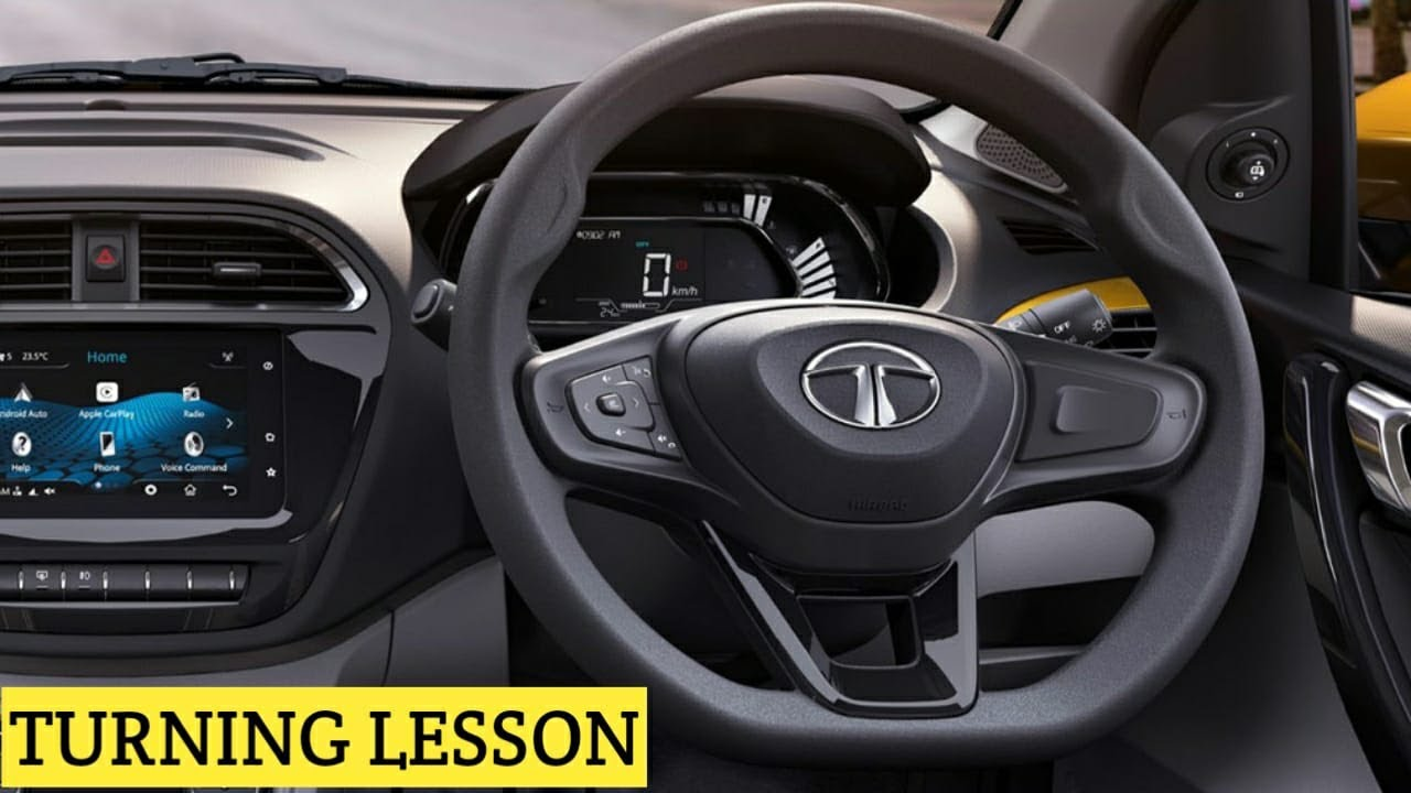How To Steer Your Car Properly - Left & Right Turnings Driving Lesson - City Car Trainers 8056256498