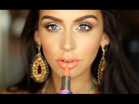 Orange & Cream Summer Makeup Look!