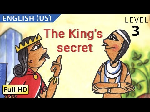 "The King's Secret: Learn English (US) with subtitles - Story for Children ""BookBox.com"""