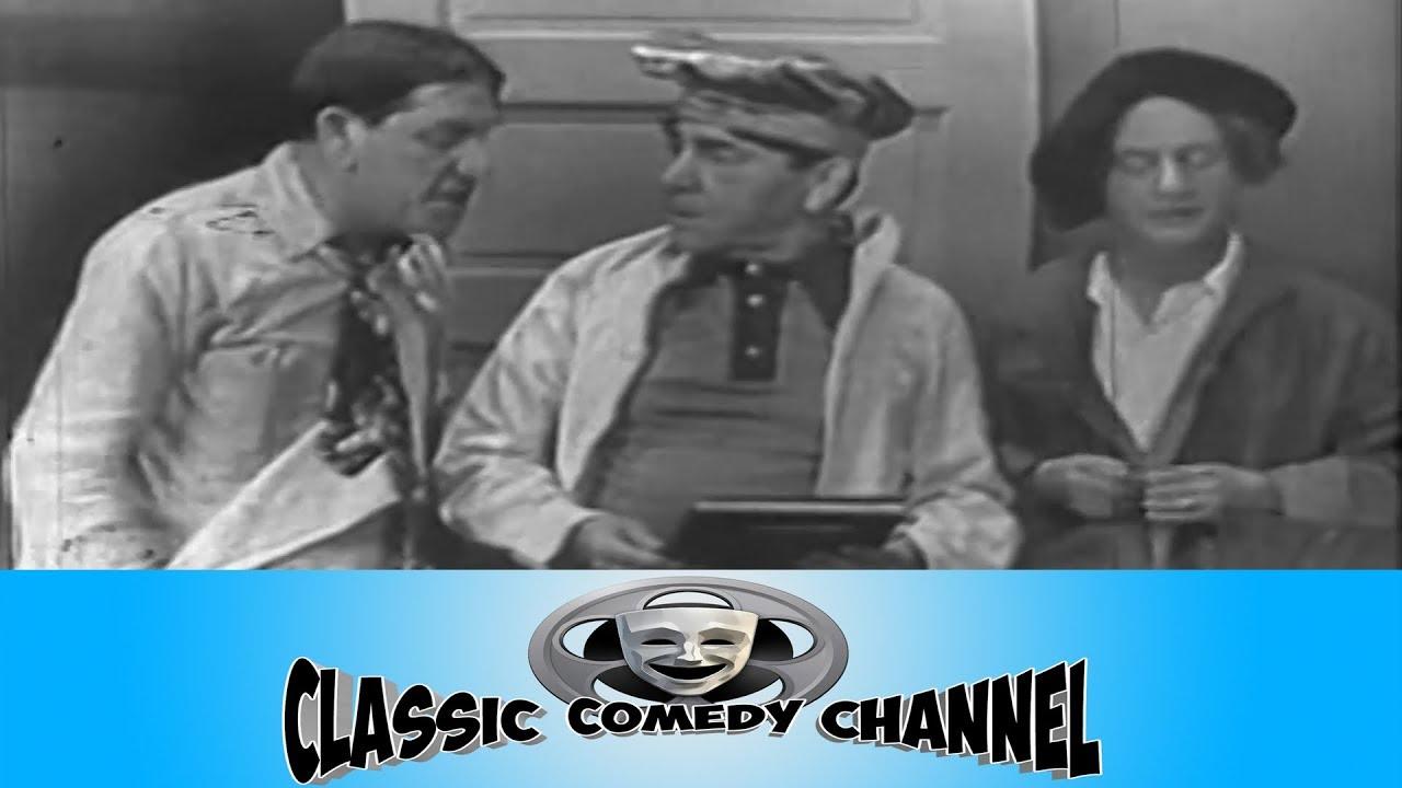 The Three Stooges - Jerks Of All Trades Original Pilot 1949