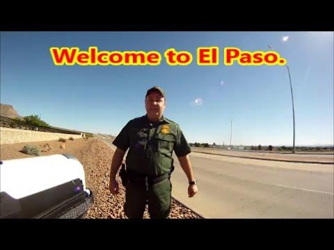 El Paso,Tx-Border Patrol & Customs Front Gate Visit #1 4-21-17