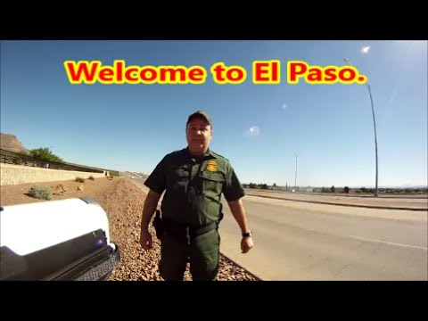 El Paso,Tx-Border Patrol & Customs Front Gate Visit #1 4-21-17