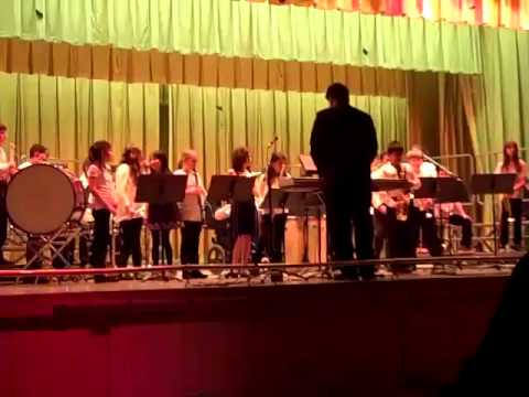 Stillmeadow School Band Winter Concert (With my son Jacob Smith on trombone) December 15, 2011