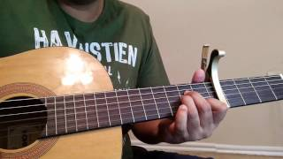 Aane Wala Pal   Golmaal   Kishore Kumar   Guitar Cover Lesson