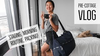 MORNING ROUTINE || PRE-COTTAGE VLOG