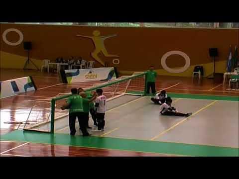 Jogo- A-M Brasil x Peru- 2017 IBSA Goalball American Championships