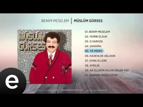 Ye Memo (Müslüm Gürses) Official Audio #yememo #müslümgürses