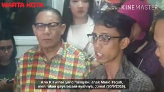 Saksikan! Ario Kiswinar Tirukan Suara Mario Teguh, Mirip Banget!!