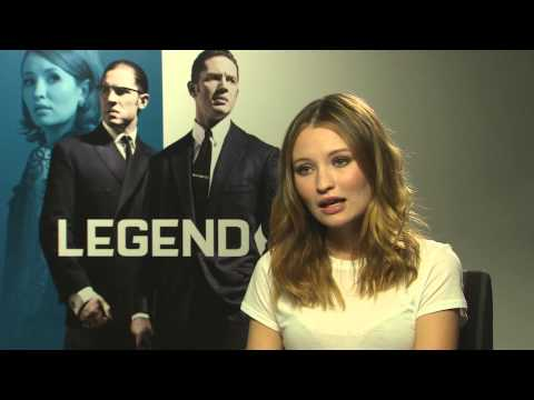 Emily Browning - Legend Interview