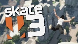 Skate 3 - TALLEST BUILDING IN THE GAME (Skate 3 Funny Moments #2)