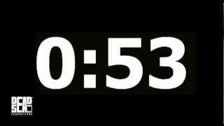 1 Minute (60 Second) Countdown Timer DEAD END Jordan F. Ghama