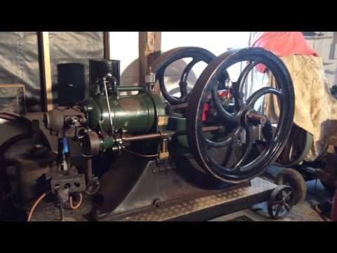 blackstone start up 1917 9 hp at opencrank.com  video 1
