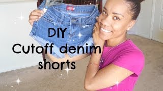 DIY cut off shorts