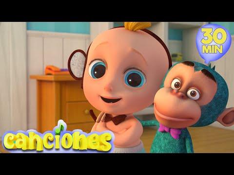 LooLoo – Cinco Monitos – 30 Minutos Las mejores canciones de baile para nios  | LooLoo – Cantece pentru copii in limba spaniola