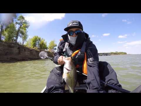 Fishing Kayak Tournament In Lake Grapevine