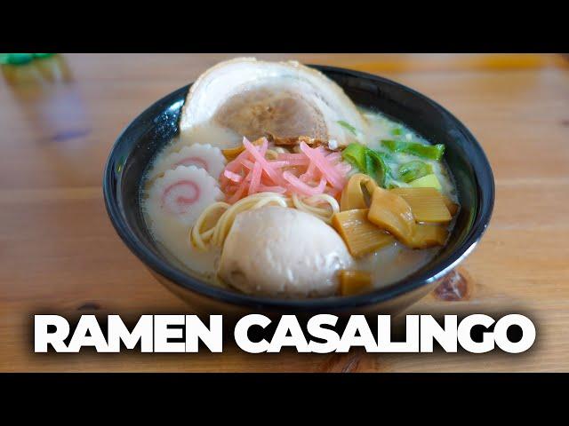 RAMEN CASALINGO VELOCE - MESE DEL RAMEN Ep. 2