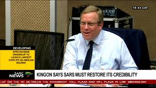 SARS must restore its credibility: Kingon