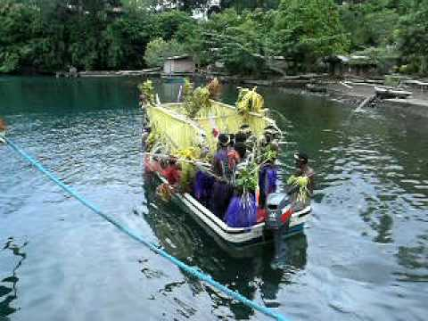 Vitu, PNG tourist greeting