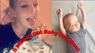 BABY BOY CLOTHING HAUL (3 Month old clothes)