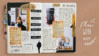 Weekly spread plan with me - Bullet Journal Nederlands
