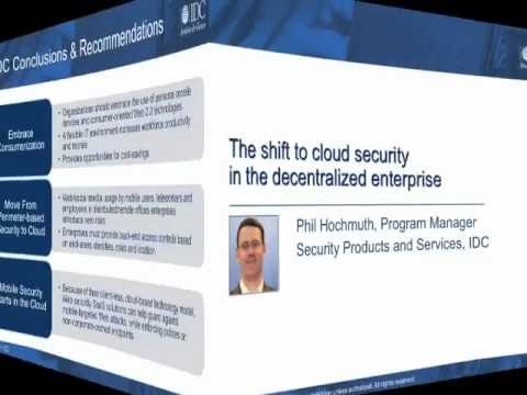 IDC Analyst - Why Cloud Security Beats Appliances