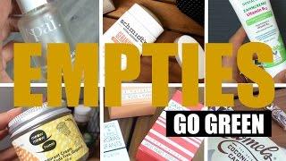 EMPTIES   PRODUITS TERMINES BIO & CRUELTY FREE
