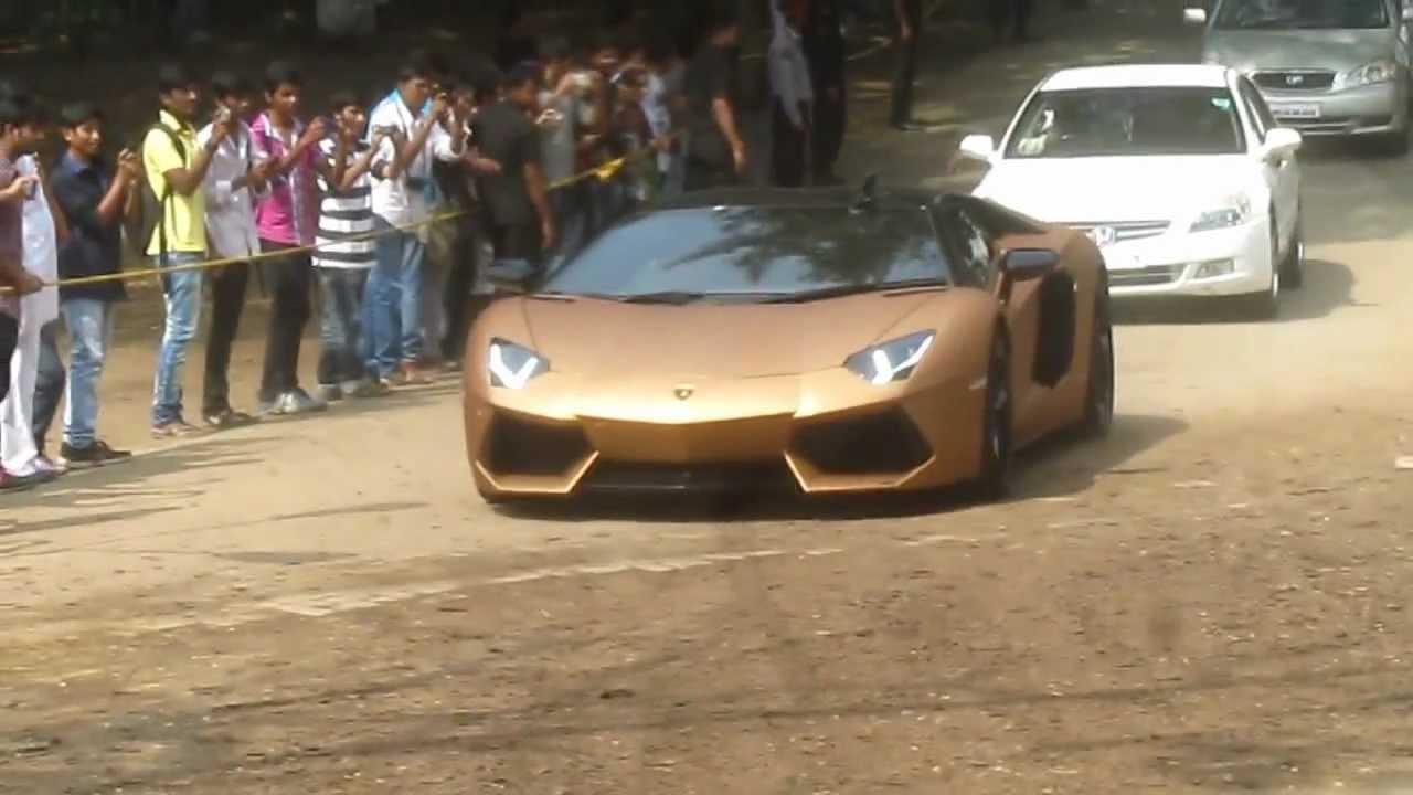 lamborghini aventador parx super car rally 2013 - youtube