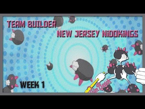ABA Team Builder | Week 1 vs New Jersey Nidokings (Sorry about Audio)
