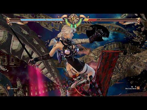 SoulCalibur 6 (Sophitia) Nyawu vs (#1 Ranked Yoshimitsu) Lone Devil - 15