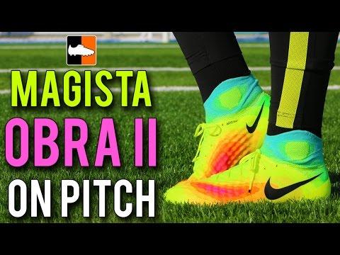 Nike Magista Obra II On Pitch Test - Gotze & Matuidi New Football Boots