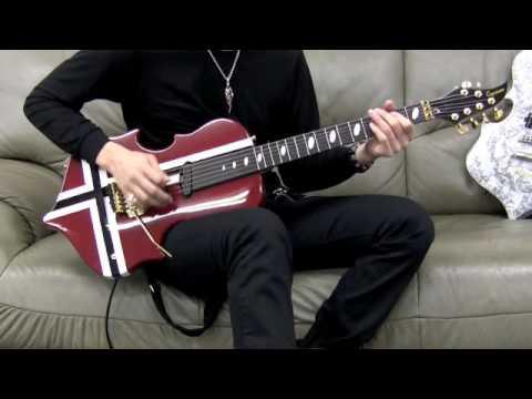 Jesus Gackt Guitar Play