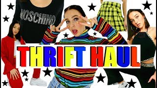 ☆ HUGE SPRING TRY-ON THRIFT HAUL☆