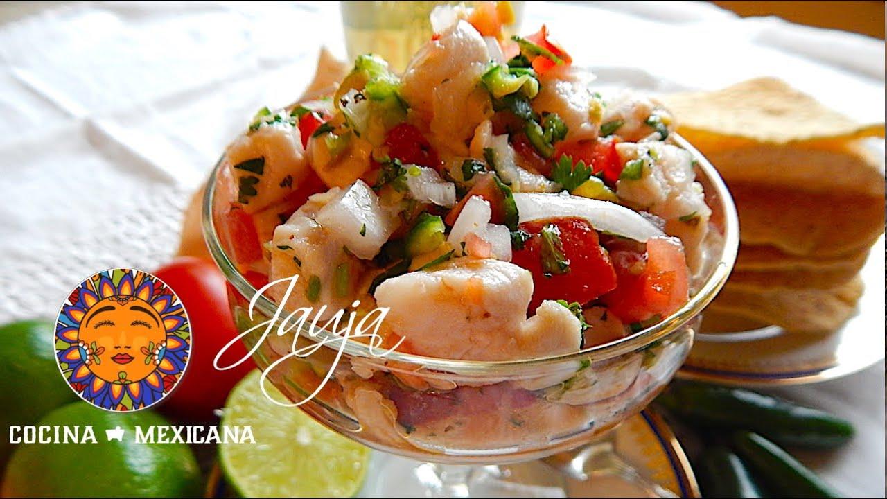 Ceviche de Pescado Mexicano  YouTube